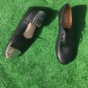 """Bloch Adult """"TapFlex"""" Lace Up Tap Shoes mens sz 11"""
